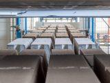 Най-съвременната поточна линия за производство на бетонови изделия в България
